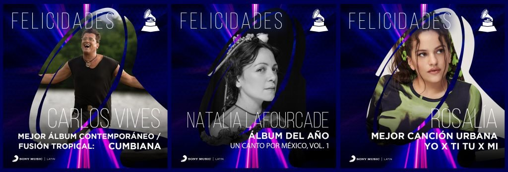 Sony Music Artists Lead The 21st Annual Latin GRAMMY Awards
