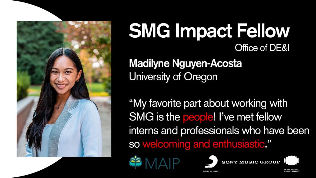 SMG Impact Fellows Mix Tape Series: Madi's Intro
