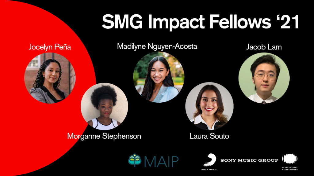 Sony Music Group Launches Impact Fellows Program