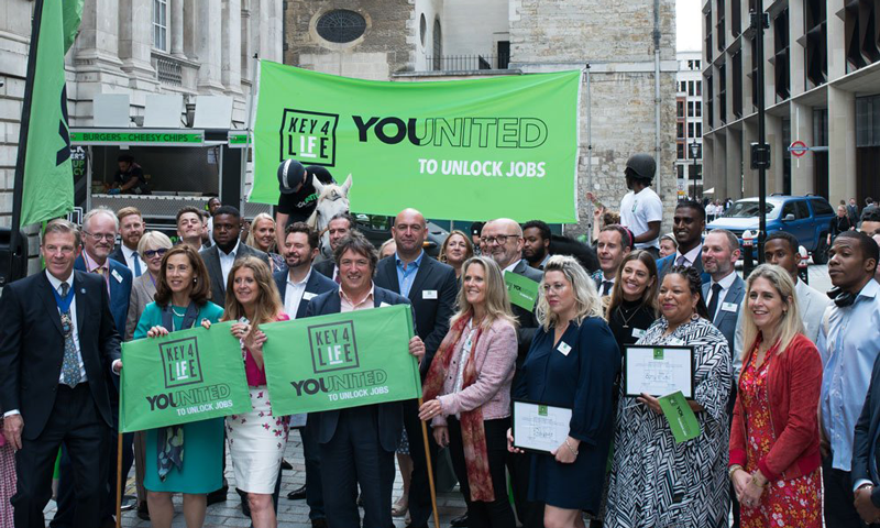 Sony Music UK Awarded Prestigious YOUNITED Flag for Commitment to Hiring Ex-Offenders