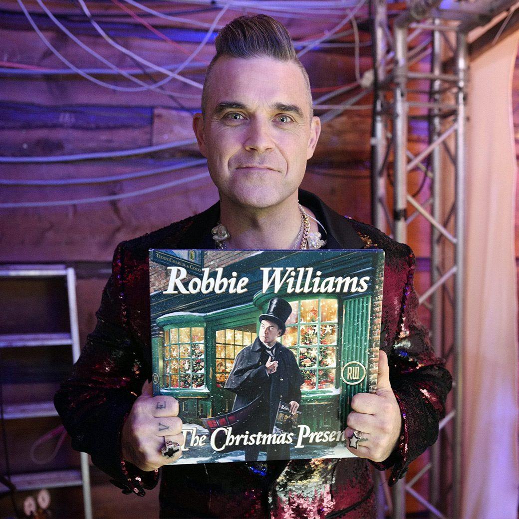 Robbie Williams releases new album 'The Christmas Present'