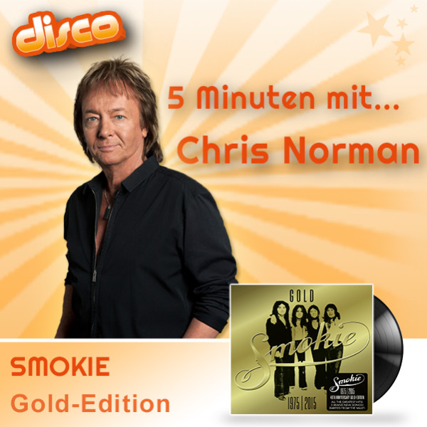 5 Minuten mit Chris Norman (Smokie) auf Disco mit Ilja Richter