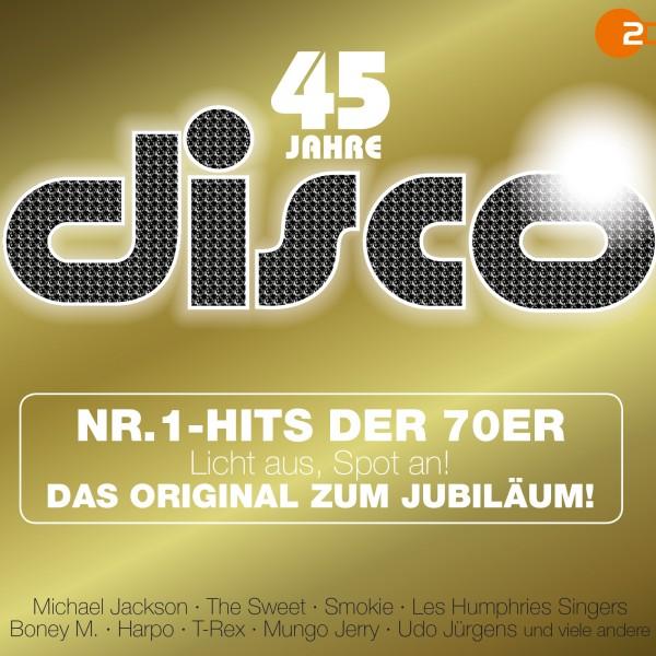 40 Jahre Disco CD