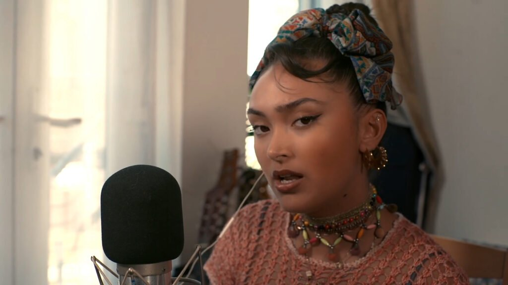 Joy Crookes performing on Back To Mine