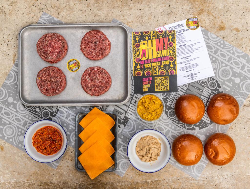 Mr Eazi Patty&Bun Meal Kit