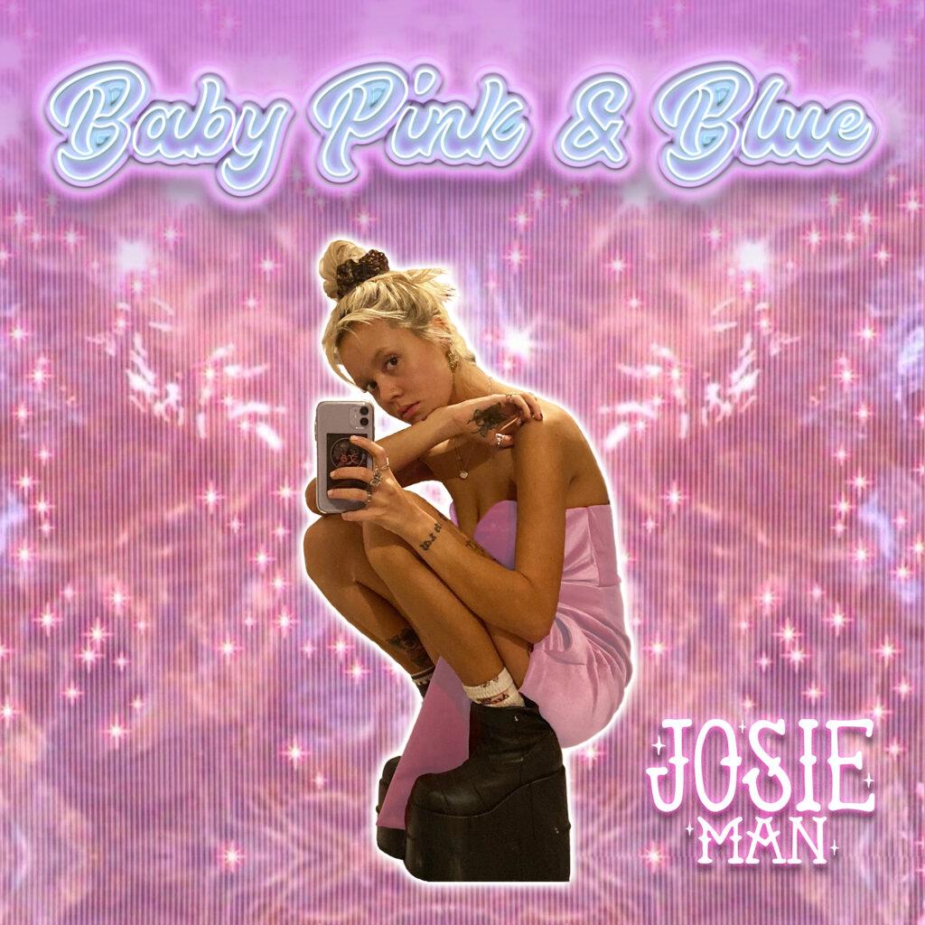 Josie Man Baby Pink & Blue artwork