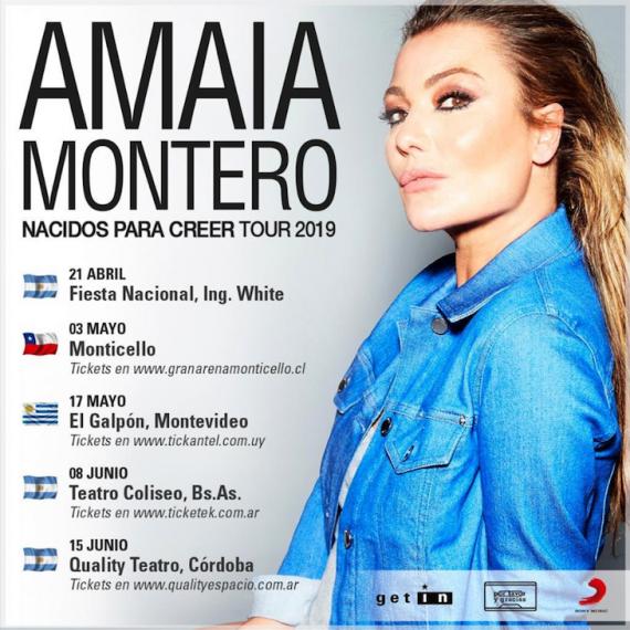 Amaia Montero ARg Uru