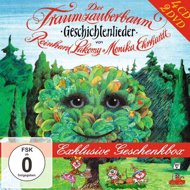 Reinhard Lakomy Traumzauberbaum Geschenkbox Amiga Schallplatten