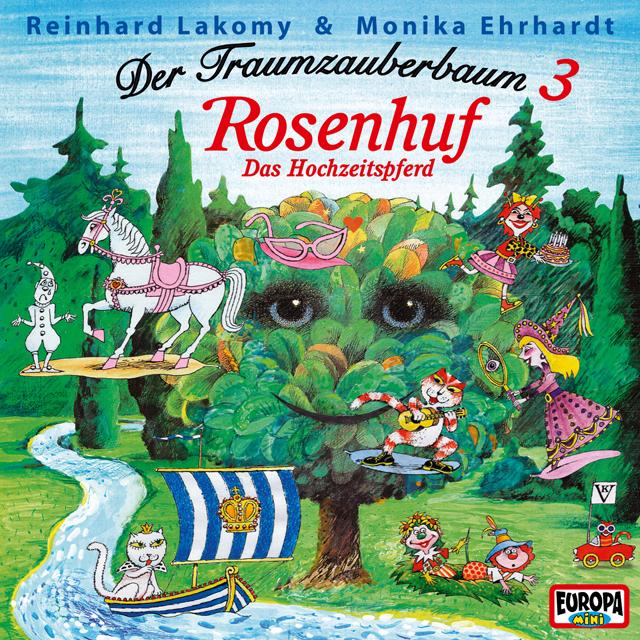 Reinhard Lakomy Traumzauberbaum 3 Rosenhuf Amiga Schallplatten