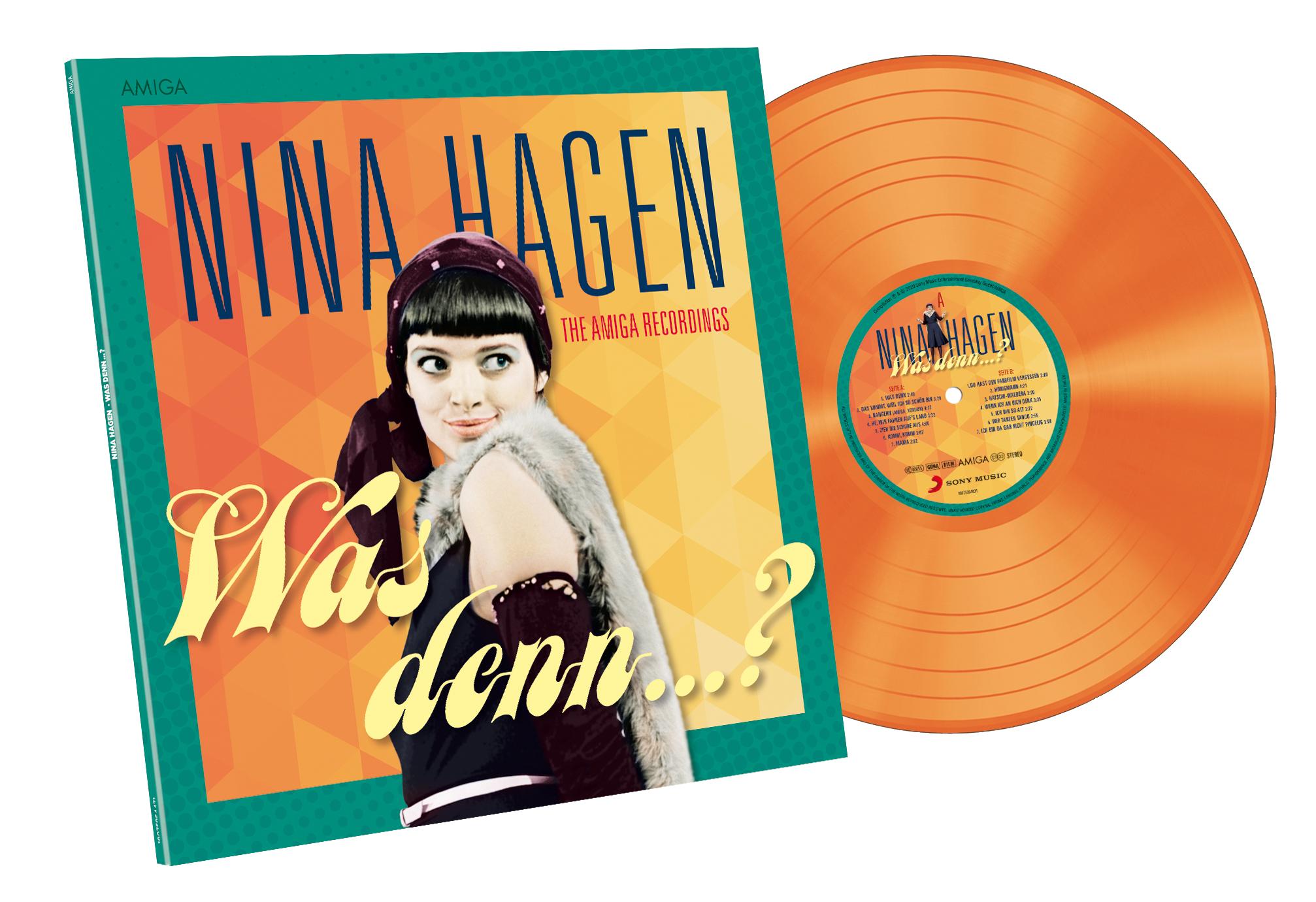 """Nina Hagen """"Was denn"""" Vinyl"""