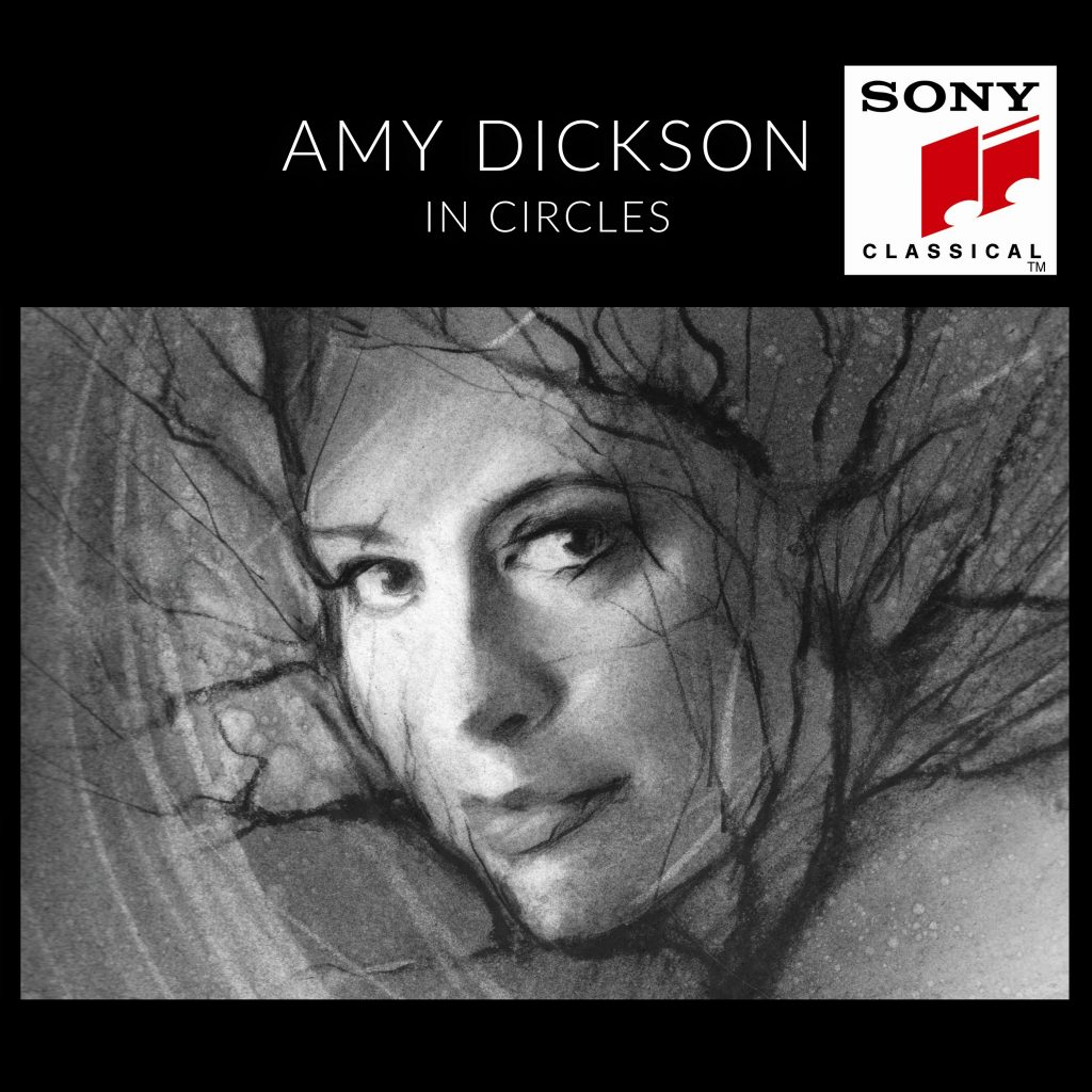 Amy Dickson – In Circles Cover