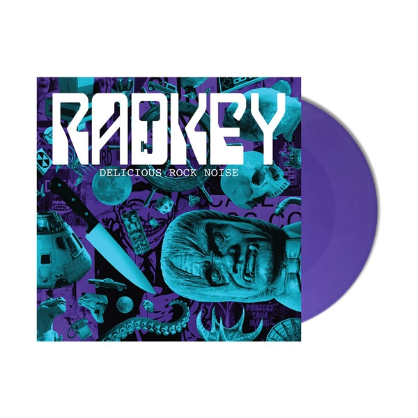 Radkey, 'Delicious Rock Noise' Lilac LP