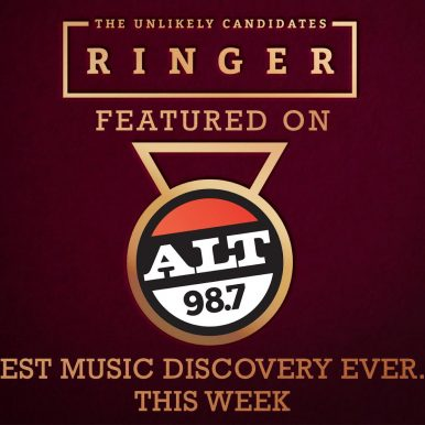 "The Unlikely Candidates' ""Ringer"" Featured On ALT987FM's Best Music Discovery EVER!"