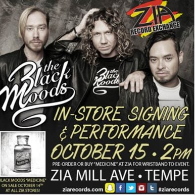 The Black Moods Play In-Store Performance In Tempe, AZ On October 15