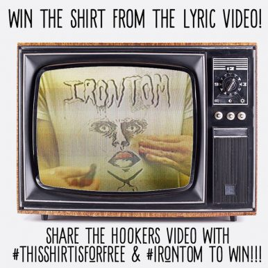 "IRONTOM ""Hookers"" T-Shirt Contest"