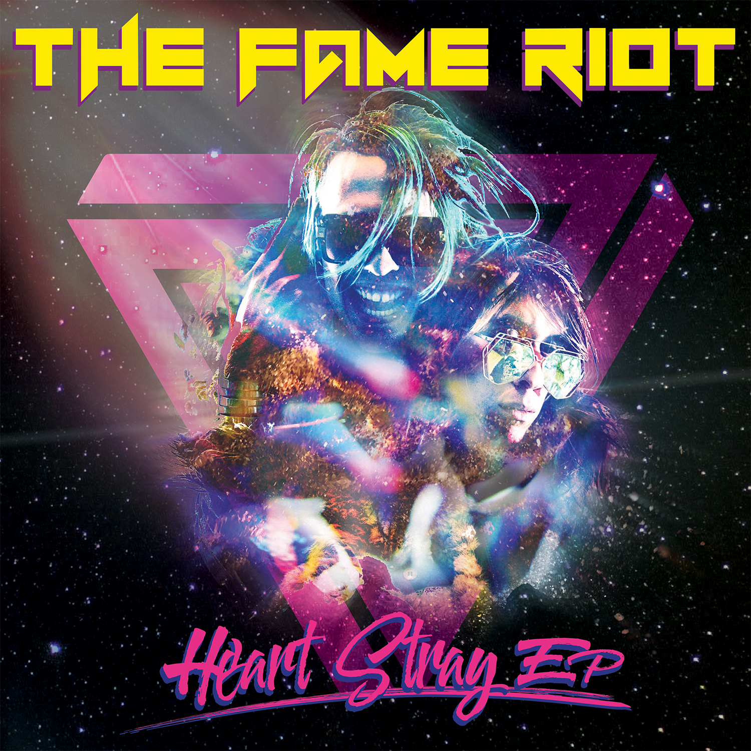 THE FAME RIOT - 'The Heart Stray EP'