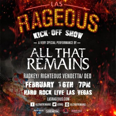 Radkey To Perform At Las Rageous
