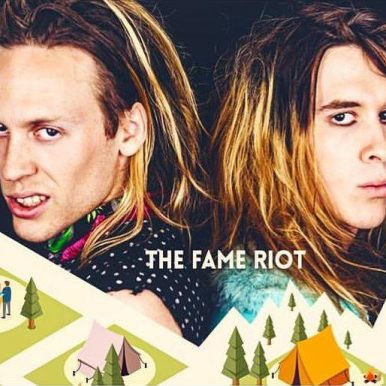 "THE FAME RIOT Are 107.7 The End's July ""Artist Of The Month""!"