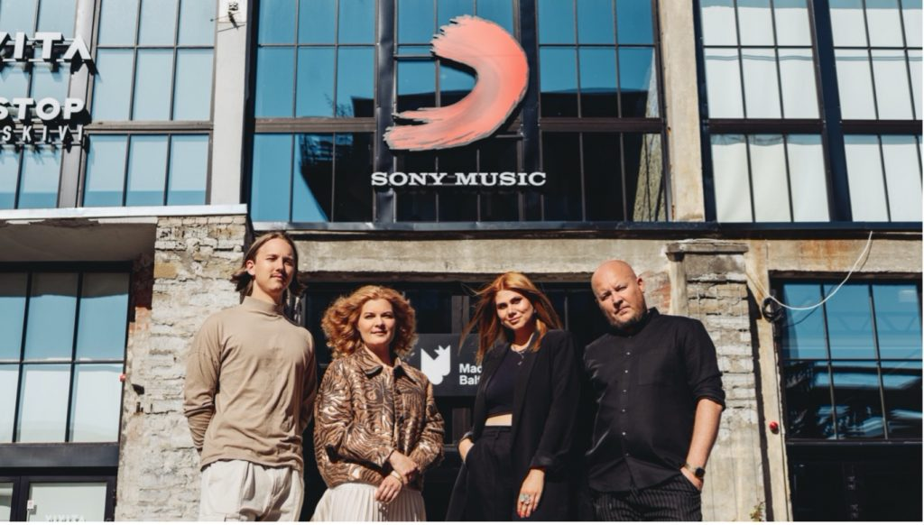 Sony Music strengthens its operations in the Baltics.
