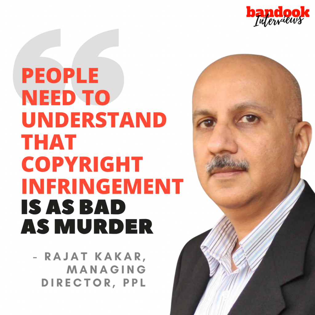 bandook#InterviewsRajat Kakar: 'People need to understand that copyright infringement is as bad as murder' - Bandook