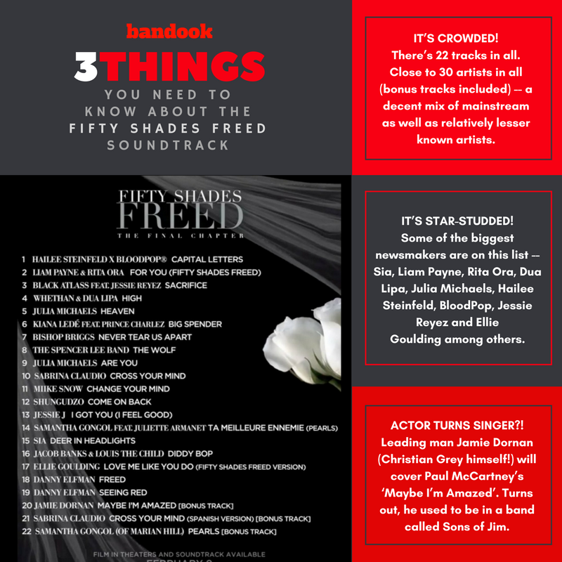 3 things you need to know about the Fifty Shades Freed OST - Bandook