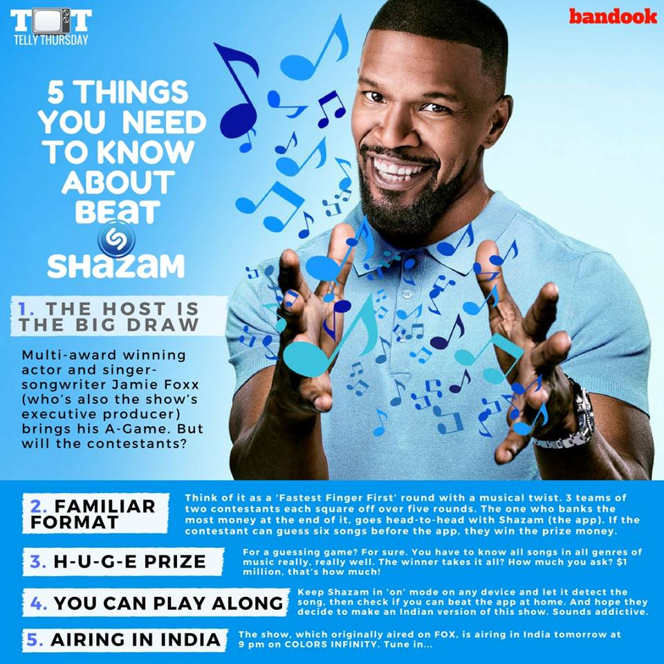5 things you need to know about Beat Shazam - Bandook