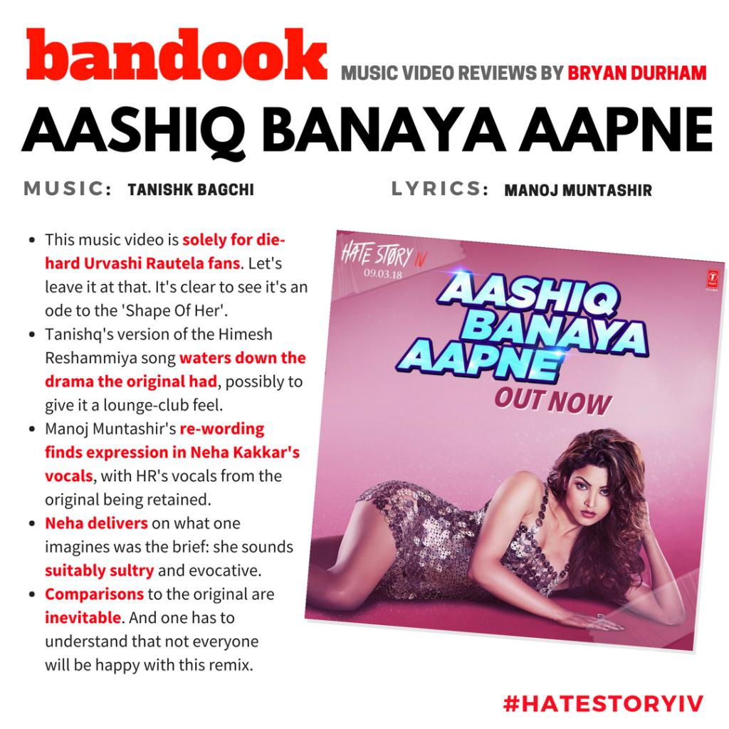 Aashiq Banaya Aapne | Hate Story IV - Bandook