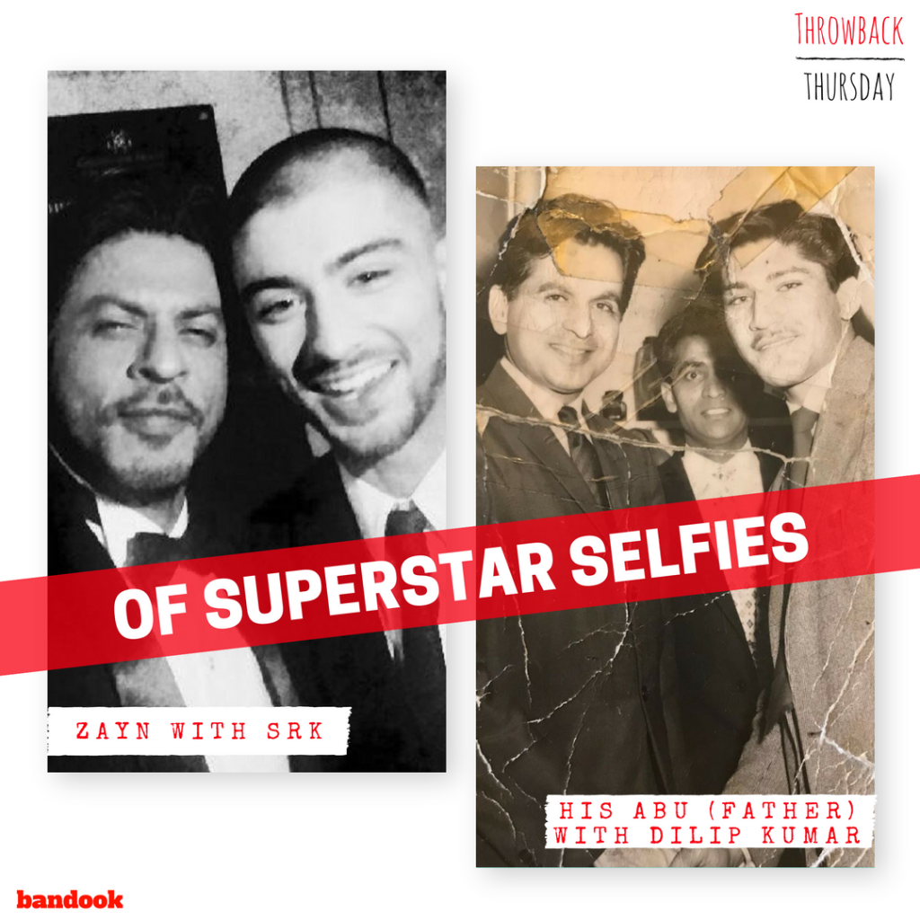 Like father like son: Zayn and his father's superstar selfies - Bandook