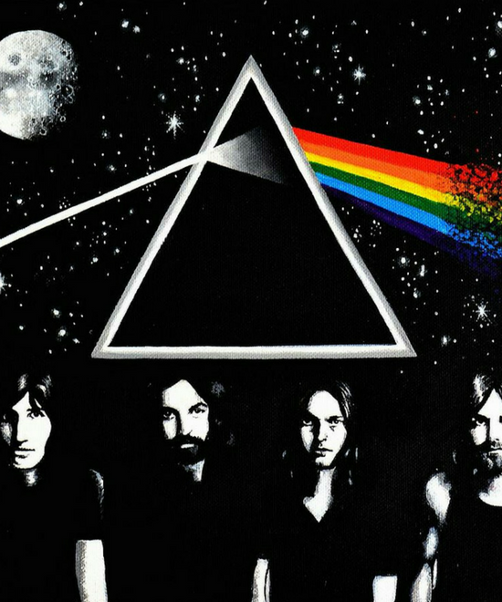 45 Years of Pink Floyd's 'DARK SIDE OF THE MOON' - Bandook