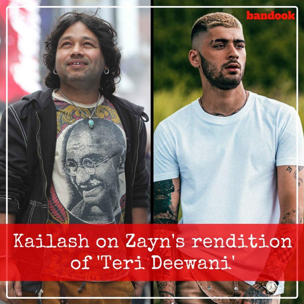 Kailash on Zayn's rendition of 'Teri Deewani' - Bandook