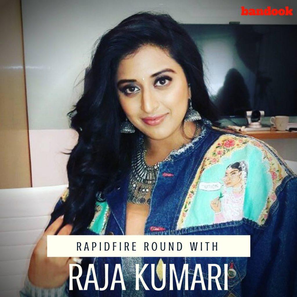Rapidfire with Raja Kumari - Bandook