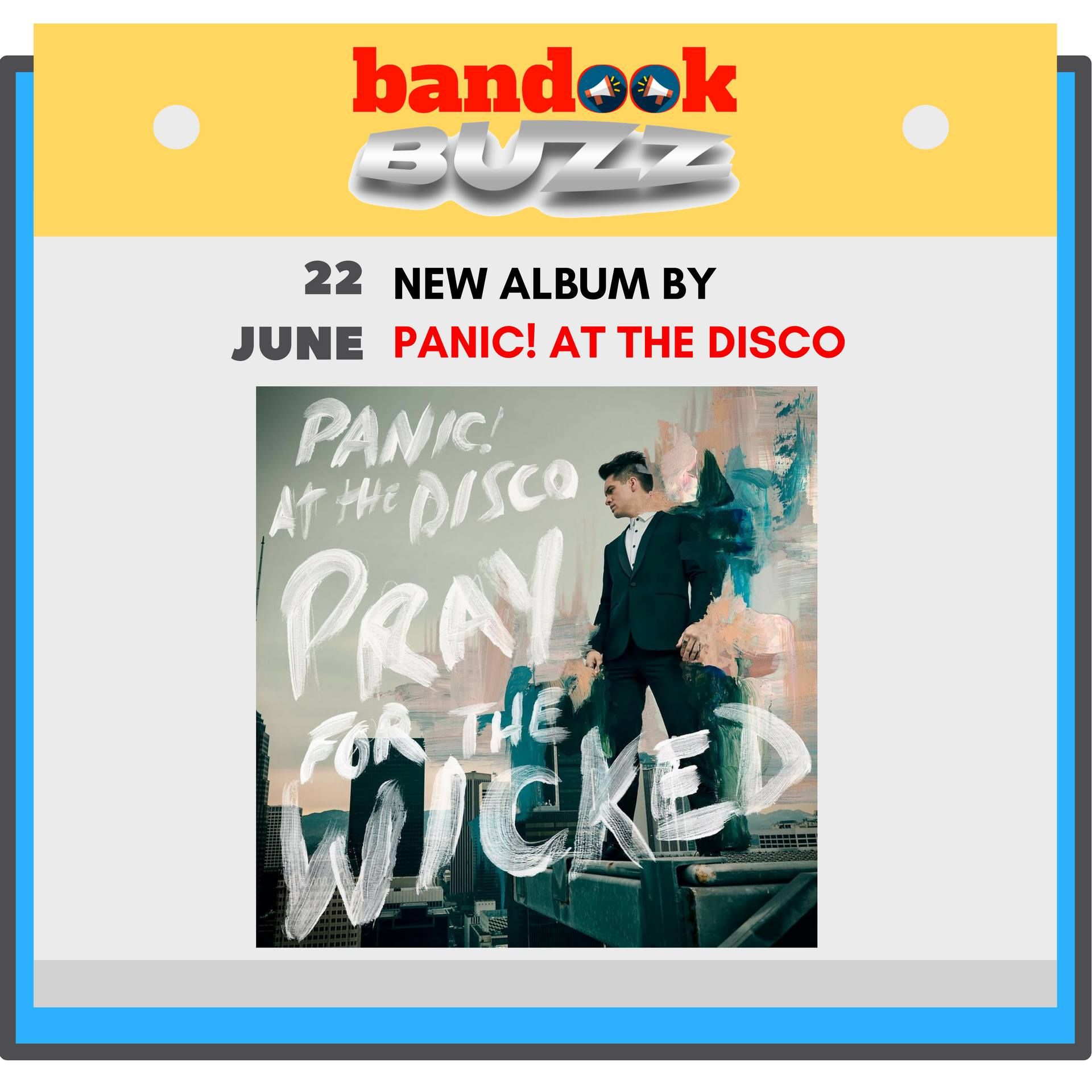 Panic! At The Disco's Brendon Urie wants you to 'Say Amen' while you 'Pray For The Wicked' - Bandook