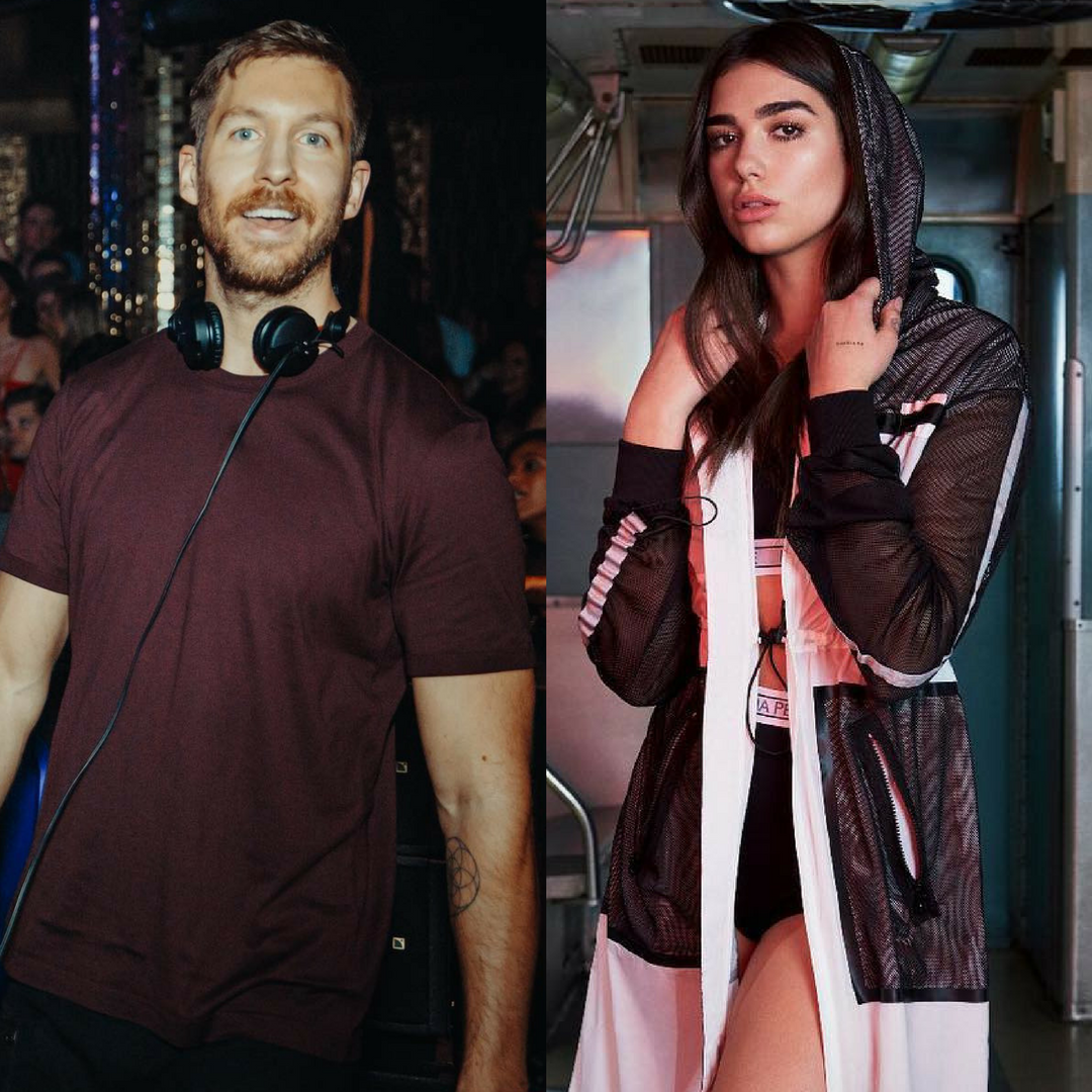Dua Lipa and Calvin Harris to share OneKiss - Bandook