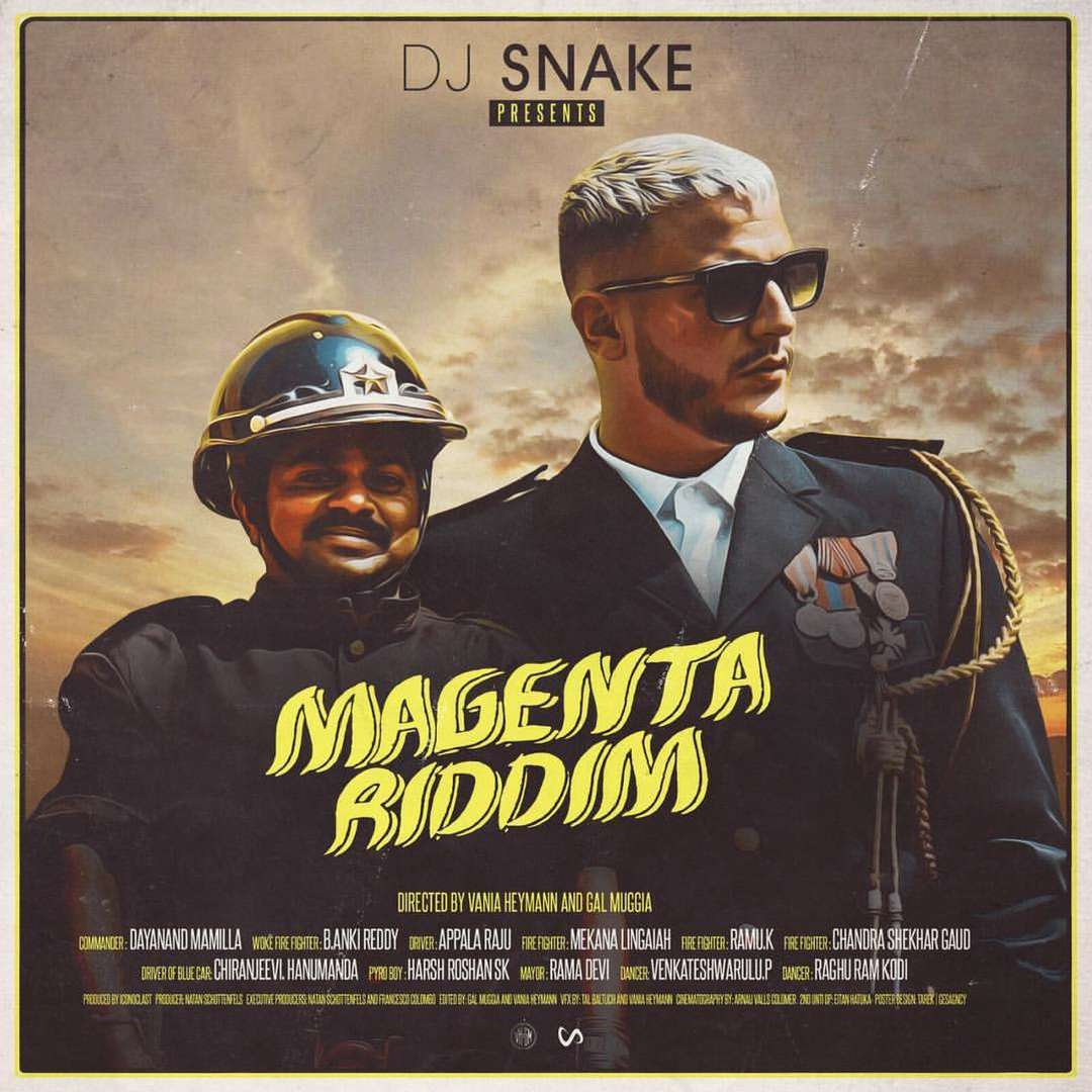 'Magenta Riddim' is on fire! - Bandook