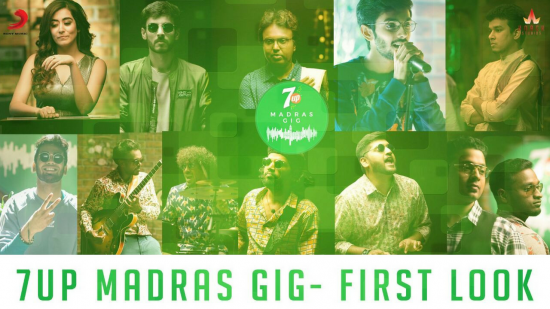 '7UP Madras Gig' Season 1 to have a six-episode run