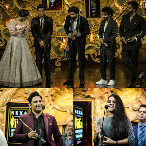 Amaal Mallik, Tanishk Bagchi, Meghna Mishra, Arijit Singh win big at IIFA awards
