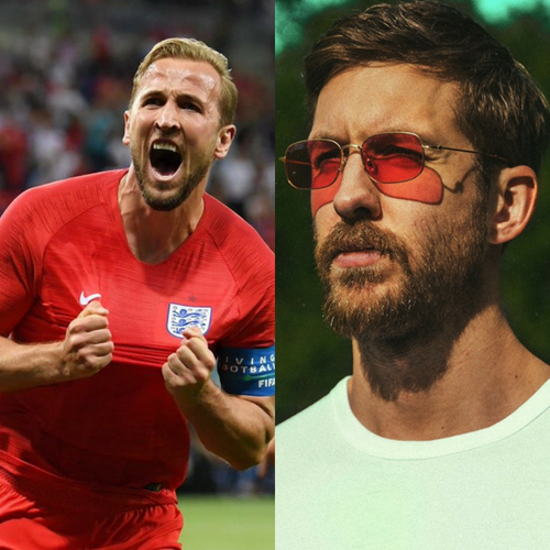One Kiss is all it took for England captain Harry Kane to score