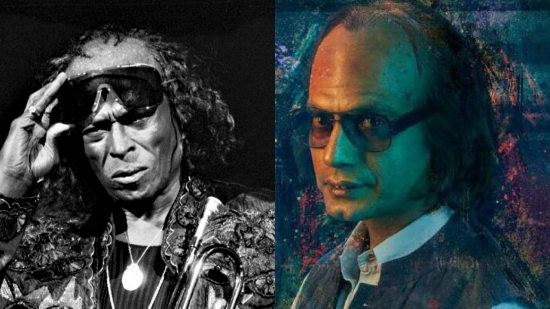 Was Nawaz's look from Mom inspired by Miles Davis?