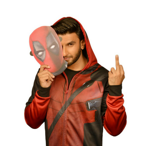 Ranveer Singh is Deadpool