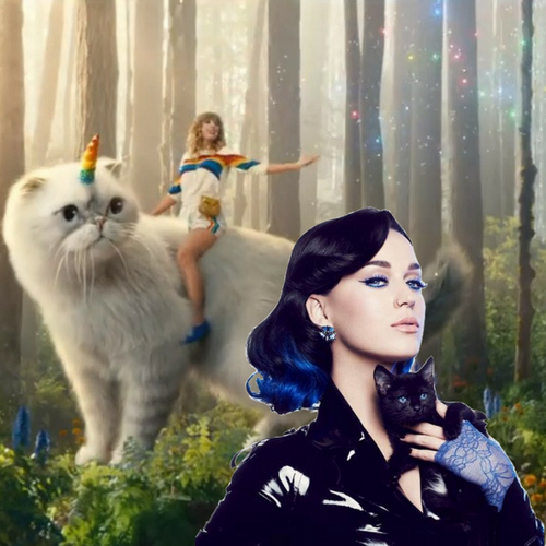 Katy a better fit for 'caticorn' ad?