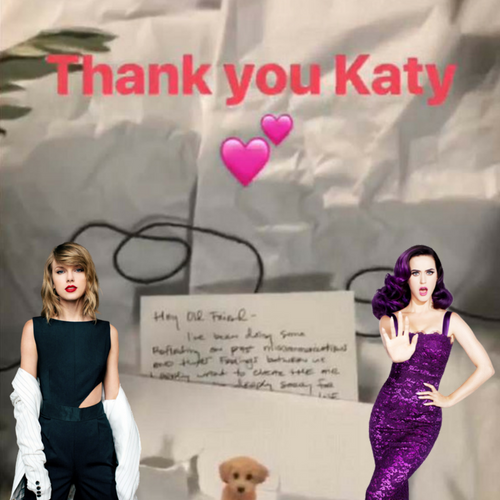 No more Bad Blood between Taylor and Katy?