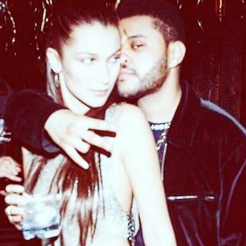 A Kissing Tale for The Weeknd