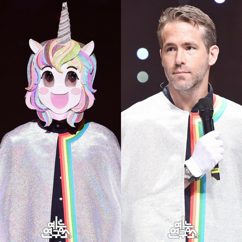 Deadpool is a singing unicorn in Korea