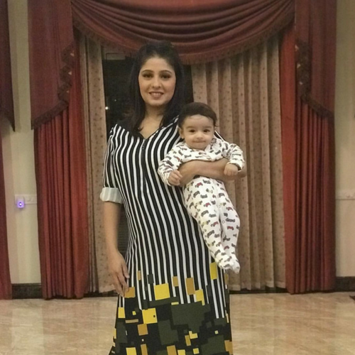 Sunidhi Chauhan debuts first pic of her baby boy