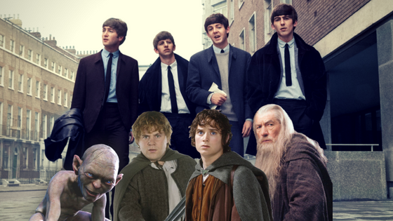 The Beatles wanted to act in a 'Lord of the Rings' film