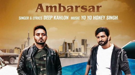 No traces of Honey Singh in his new music video of Ambarsar