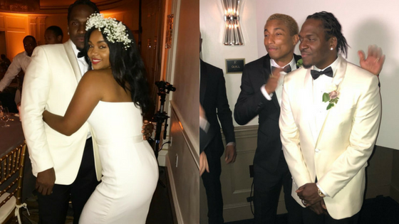 Pusha T gets Pharrell to be the best man at his wedding