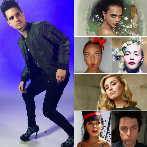 Brendon Urie comes out as pansexual. Here are 6 other gender-blind singers