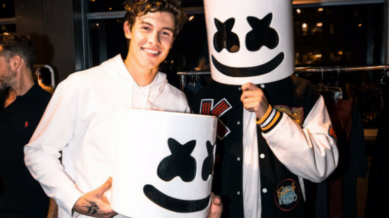 Marshmello is… Shawn Mendes?
