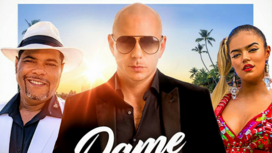 'Dame Tu Cosita' gets a remix featuring Pitbull and Karol G